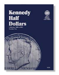 WHITMAN FOLDER: KENNEDY HALF DOLLARS 1986-2003 (VOL. 2)