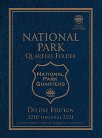 WHITMAN FOLDER: NATIONAL PARK QUARTERS 2010-2021 P&D (120 OPENINGS)