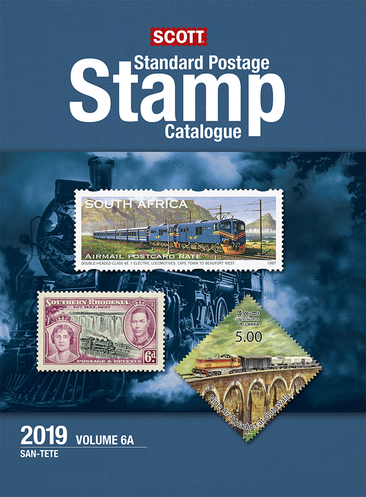 2019 Scott Standard Postage Stamp Catalogue - Vol. 6 (San-Z)