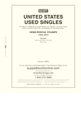 Scott National Used Singles Series: United States Semi-Postal Stamps (2 Pages)