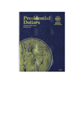 Whitman Presidential Dollar 2007-2011 (Vol. 1) Folder