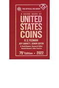THE OFFICIAL RED BOOK OF U.S. COINS 2022 - HARD COVER