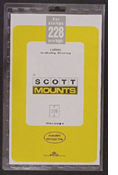 ScottMount 152x228 Stamp Mounts - Black