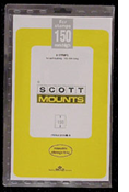 ScottMount 165x150 Stamp Mounts - Clear