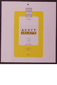 ScottMount 184x184 Stamp Mounts - Clear