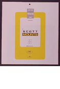 ScottMount 192x230 Stamp Mounts - Clear