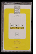 ScottMount 156x204 Stamp Mounts - Clear