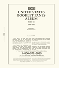 Scott US Booklet Panes 2000-06