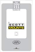 ScottMount 139x151 Stamp Mounts - Clear