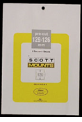 ScottMount 129x126 Stamp Mounts - Clear