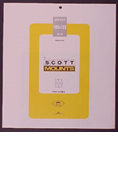 ScottMount 185x172 Stamp Mounts - Clear