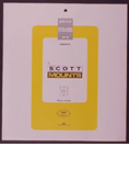 ScottMount 172x233 Stamp Mounts - Black