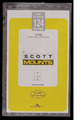 ScottMount 176x124 Stamp Mounts - Clear