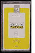 ScottMount 177x133 Stamp Mounts - Black