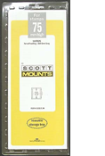 ScottMount 75x265 Stamp Mounts - Clear