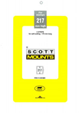 ScottMount 179x217 Stamp Mounts - Black