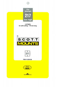 ScottMount 179x217 Stamp Mounts - Clear