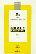 ScottMount 182x244 Stamp Mounts - Clear