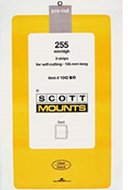 ScottMount 185x255 Stamp Mounts - Black