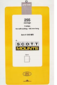 ScottMount 185x255 Stamp Mounts - Clear