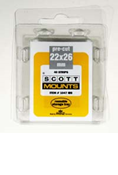 ScottMount 22x26 Stamp Mounts - Clear