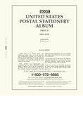 Scott US Postal Stationery 2001-2015