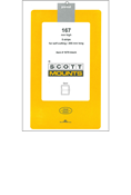 ScottMount 167x265 Stamp Mounts - Clear