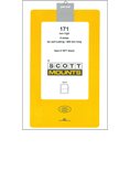 ScottMount 171x265 Stamp Mounts - Clear