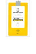 ScottMount 185x265 Stamp Mounts - Clear