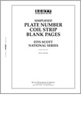 Scott US Simplified PNC Blank Pages