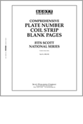 Scott US Comprehensive PNC Blank Pages