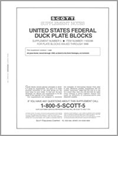 Scott US Hunting Permits (Duck) Blocks 1997-1998 #5