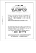 Scott US Blocks of Four 1999 #60