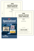 Scott United States National Used Singles 1990-1999 & 2019 Scott U.S. Specialized Catalogue Bundle