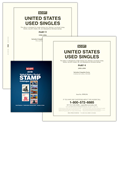 Scott United States National Used Singles 1990-1999 & 2019 Scott U.S. Pocket Stamp Catalogue Bundle