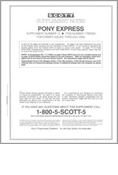 Scott US Pony Express 2000 #12