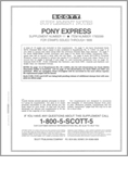 Scott US Pony Express 1999 #11