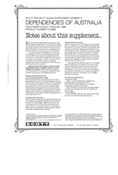 AUSTRALIA DEPENDENCIES 1989 #2 (10 PAGES)