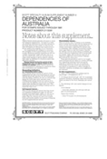 AUSTRALIA DEPENDENCIES 1991 (13 PAGES) #4