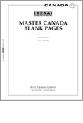 Scott Master Canada Blank Pages