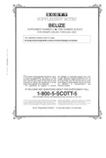 BELIZE 2001-2002 (4 PAGES) #5