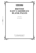 Scott British East Caribbean Blank Pages