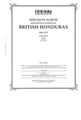 BRITISH HONDURAS 1866-1973 (26 PAGES)