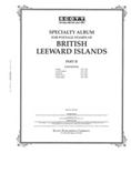 BR LEEWARD ISLANDS 1937-1966 (35 PAGES)