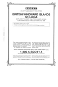 BR. WINDWARD ISL. - ST. LUCIA 1995 #10 (4 PAGES)