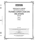 TURKS & CAICOS 1860-1986 (105 PAGES)