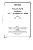 BR WINDWARD ISLANDS 1860-1935 (32 PAGES)