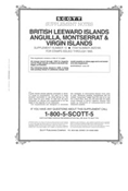 ANGUILLA, MONTSERRAT & VIRGIN ISLANDS 1995 (13 PAGES) (BR.LEEWARD ISL. #10)