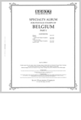 BELGIUM 1849-1947 (136 PAGES)