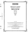 BELGIUM 1976-1995 (99 PAGES)